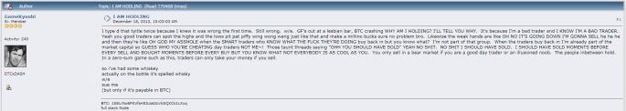 bitcoin hold hodl hodling crypto